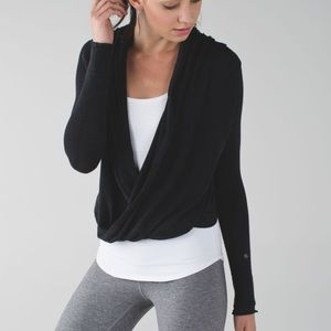 Lululemon // Iconic Wrap Sweater Size 4